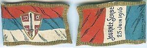 Insigne-de-journees-1914-1918-Journee-Serbe-drapeau-25-juin-1916