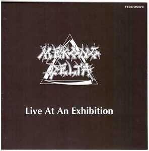 MEKONG DELTA Live at an Exhibition CD German Prog Metal/Thrash – Japan Press