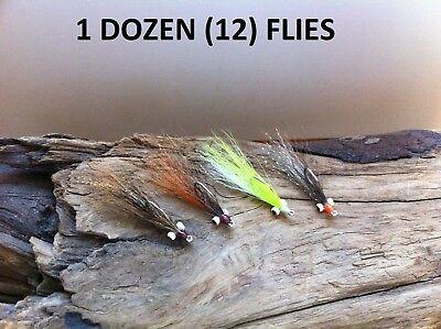 Snook Bonefish Schminnow  Brown #4 Saltwater flies