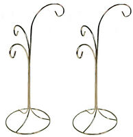 Ornament Display Stand Holder Hanger Has 3 Hooks, 13 Tall -pack Of 2 Stands