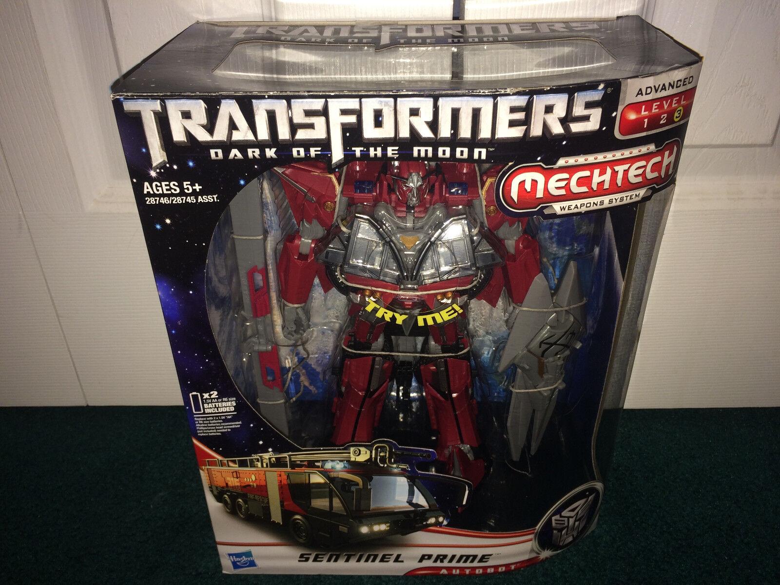 100% garantía genuina de contador Sentinel Prime líder de DOTM oscuro de de de la luna Transformers Hasbro 2011 Sellado   gran selección y entrega rápida