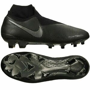 Details about Nike Phantom VSN Elite GHOST DF ACC FG Black Blue Soccer Cleats Shoes Men AO3262