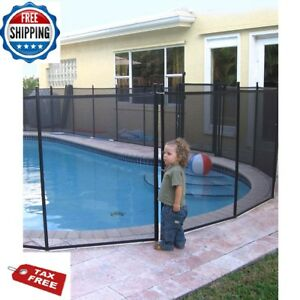 Pool Safety Fence Swimming Fencing Inground For Kids Pets