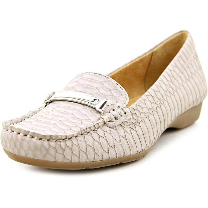 Naturalizer Flats Shoes Gray Oxfords Gadget Loafer Shoes Taupe Gray Shoes 7.5M 278a05