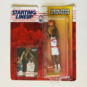 DOMINIQUE WILKINS Los Angeles Clippers NBA Starting Lineup Figure SLU 1994 MOC!!