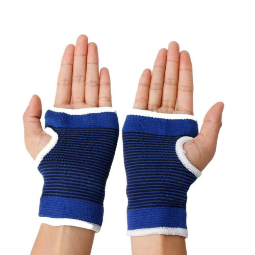 2 Stück Palm Handgelenk Hand Stütze Handschuh Elastischer Ärmel Sport Verband