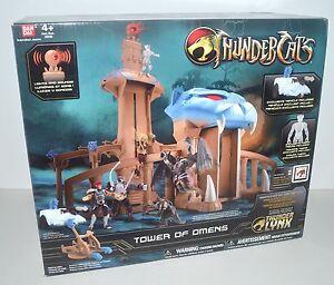 TOWER OF OMENS thundercats NEW playset NISB exclusive figure TYGRA
