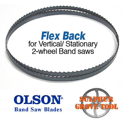 "93-1//2/"" Olson Hard Edge Flex Back Band Saw Blade 1//2/"" .025/"" 3 HOOK  FB23193DB"