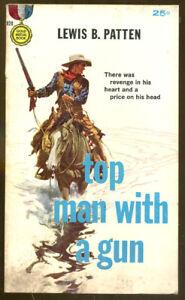 Top-Man-With-a-Gun-by-Lewis-B-Patten-Vintage-Gold-Medal-Paperback-Original-1959