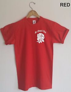 2077b203 English Rose T-Shirt - St.George's Day, England, Patriotic, All ...