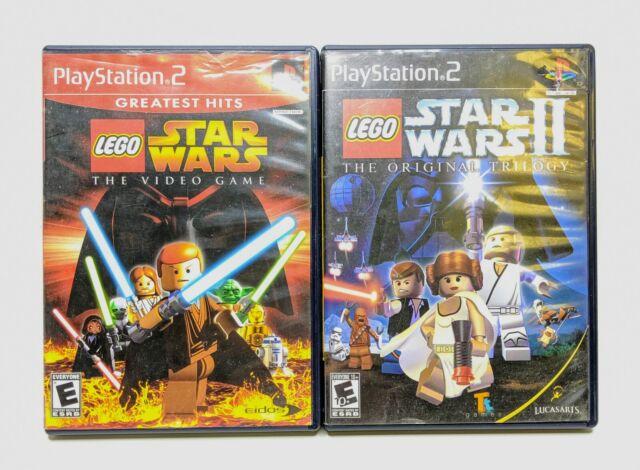 Lego Star Wars I & II Original Trilogy (Playstation 2) ps2 Spielepaket getestet