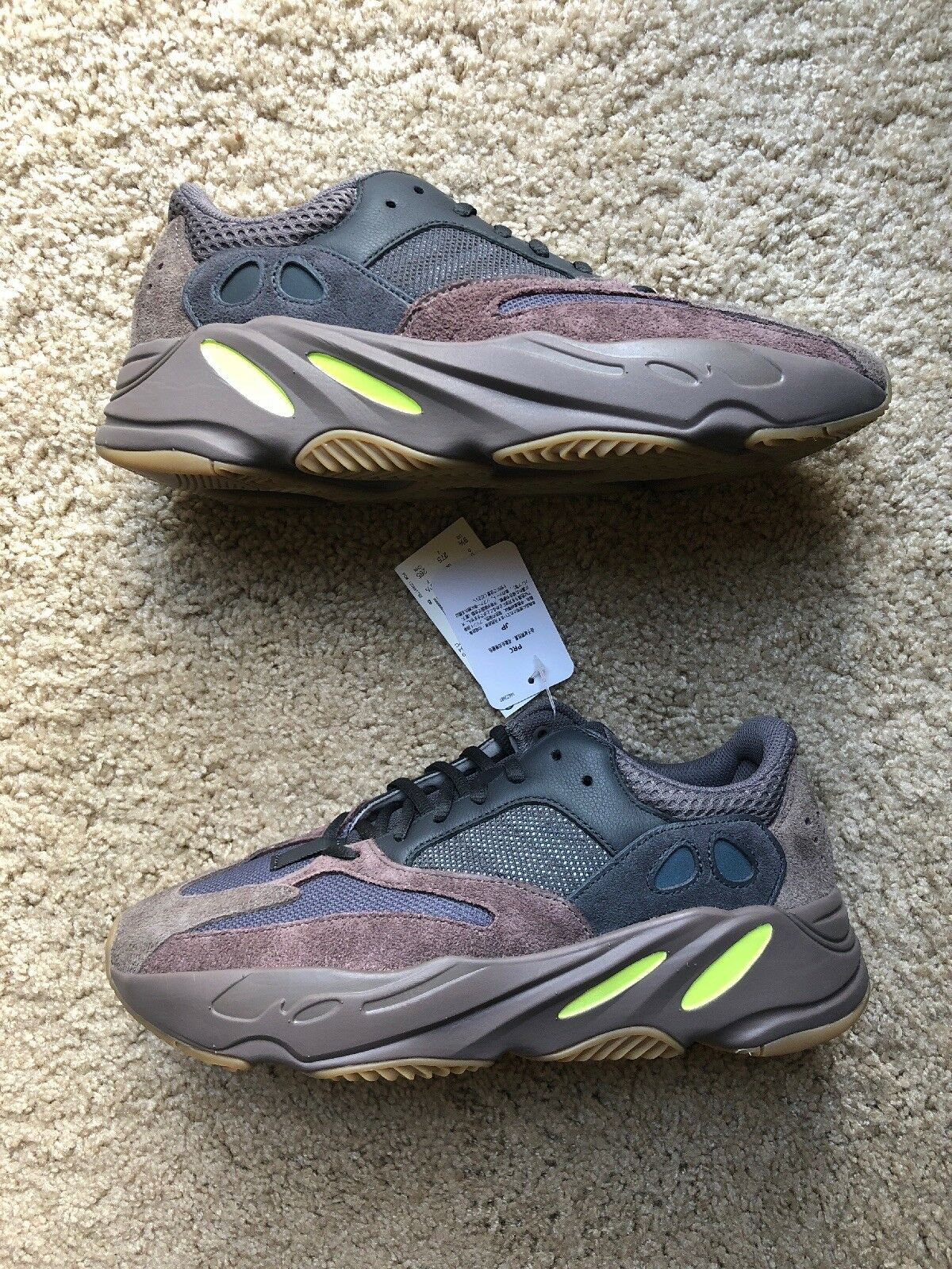 8b766f097 Adidas Yeezy 700 Mauve Size 9.5 US Mens - NEW IN BOX + FREE SHIPPING.  PHILIPPE MODEL MEN S SHOES SUEDE TRAINERS SNEAKERS ...