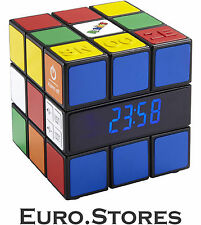 BigBen RR80 Rubik's Radio Alarm Clock Colored FM LCD Genuine New Best Gift