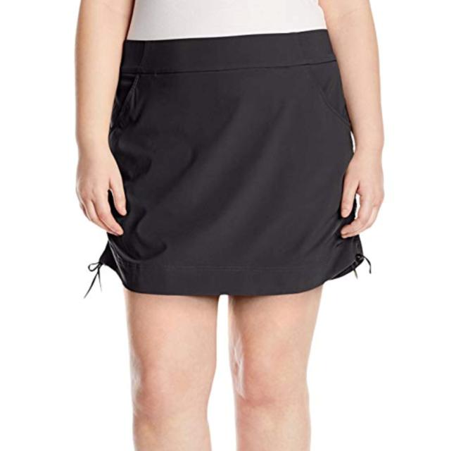 b206f0395f7 Columbia Womens Anytime Casual Skort 2X 3X Plus Skirt w  Attached Shorts  Black
