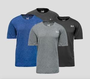 Under Armour Men Heatgear Tech Short Sleeve Tee T-shirt Plain M XL 2XL