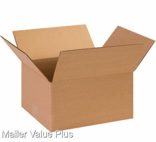 25-13 x 10 x 8 Corrugated Shipping Boxes Packing Storage Cartons Cardboard Box