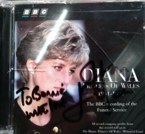 Princess Diana Memorial Elton John Signed CD 60th Birthday Idea