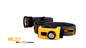 Fenix HL22 120 Lumens - Orange - LED Headlamp - 1x AA