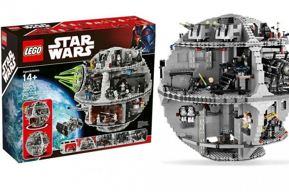 Lego Star Wars Death Star (10188) nouveau nouveau,  OVP NRFB, all the heroes you need  nouveau style