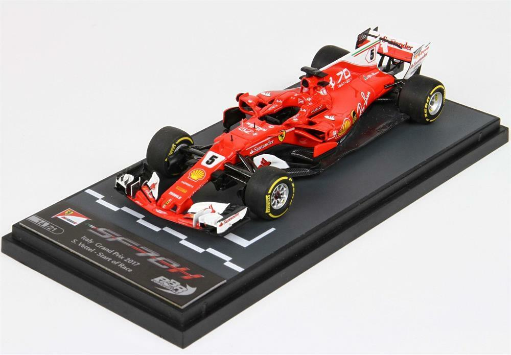 Ferrari SF70 H GP  2017 Vettel in 1 43 Scale by BBR