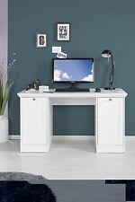 Schreibtisch Arbeitstisch SANDRO 31 Tisch Bürotisch in Weiß Landhausstil