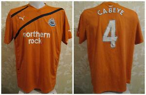 5e9aa9f845 A imagem está carregando Newcastle-United-2011-2012-Away-Tamanho-Xl-Puma-
