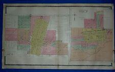 1861 IL MAP Channel Lake Chatsworth Chebanse Chenoa Cherry Valley Chrisman LARGE
