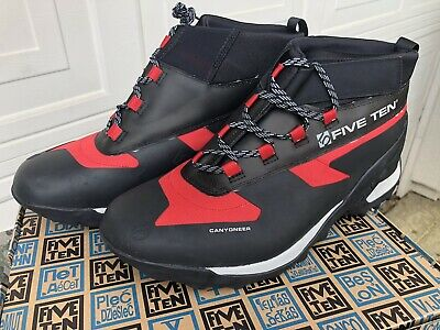FiveTen Canyoneer 3 Canvas Red Canyoning Shoes Size 14.0
