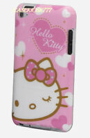 For Ipod Touch 4th 4 Th 4g Itouch Hard Back Case Pink Hot Pink White