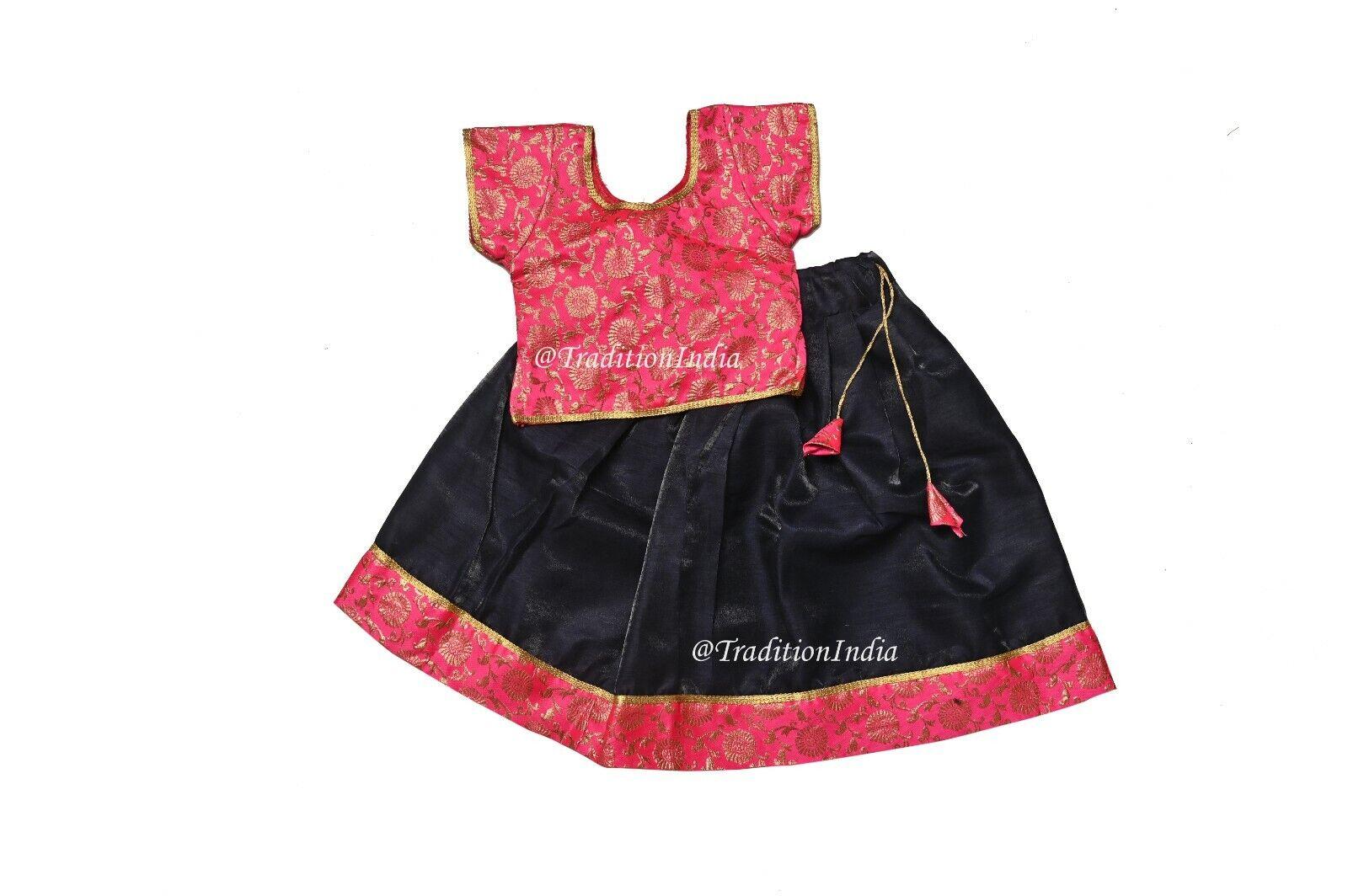 Baby Girls Lehenga Choli Readymade Ethnic Wear Kids Lehenga, Festive Wear