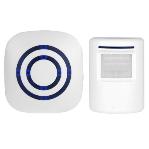 Wireless PIR Bewegungsmelder Durchgangsmelder Funk Alarm Türklingel 70 m