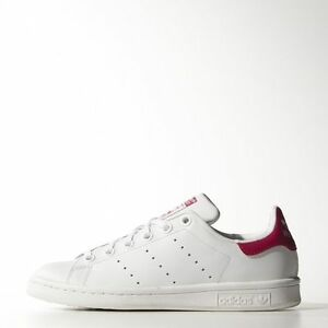 info for 47376 eb8ee Image is loading NEW-ADIDAS-YOUTH-UNISEX-ORIGINALS-STAN-SMITH-B32703-