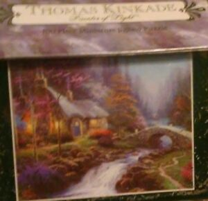 Fabulous Details About Thomas Kinkade Painter Of Light Twilight Cottage 100 Piece Miniature Puzzle Nip Home Interior And Landscaping Ologienasavecom