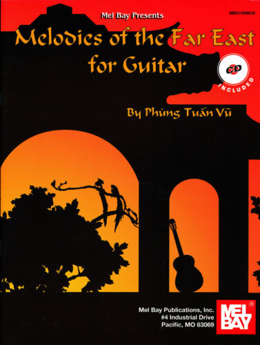 CD included Melodies of the Far East for Guitar by Phung Tuan Vu
