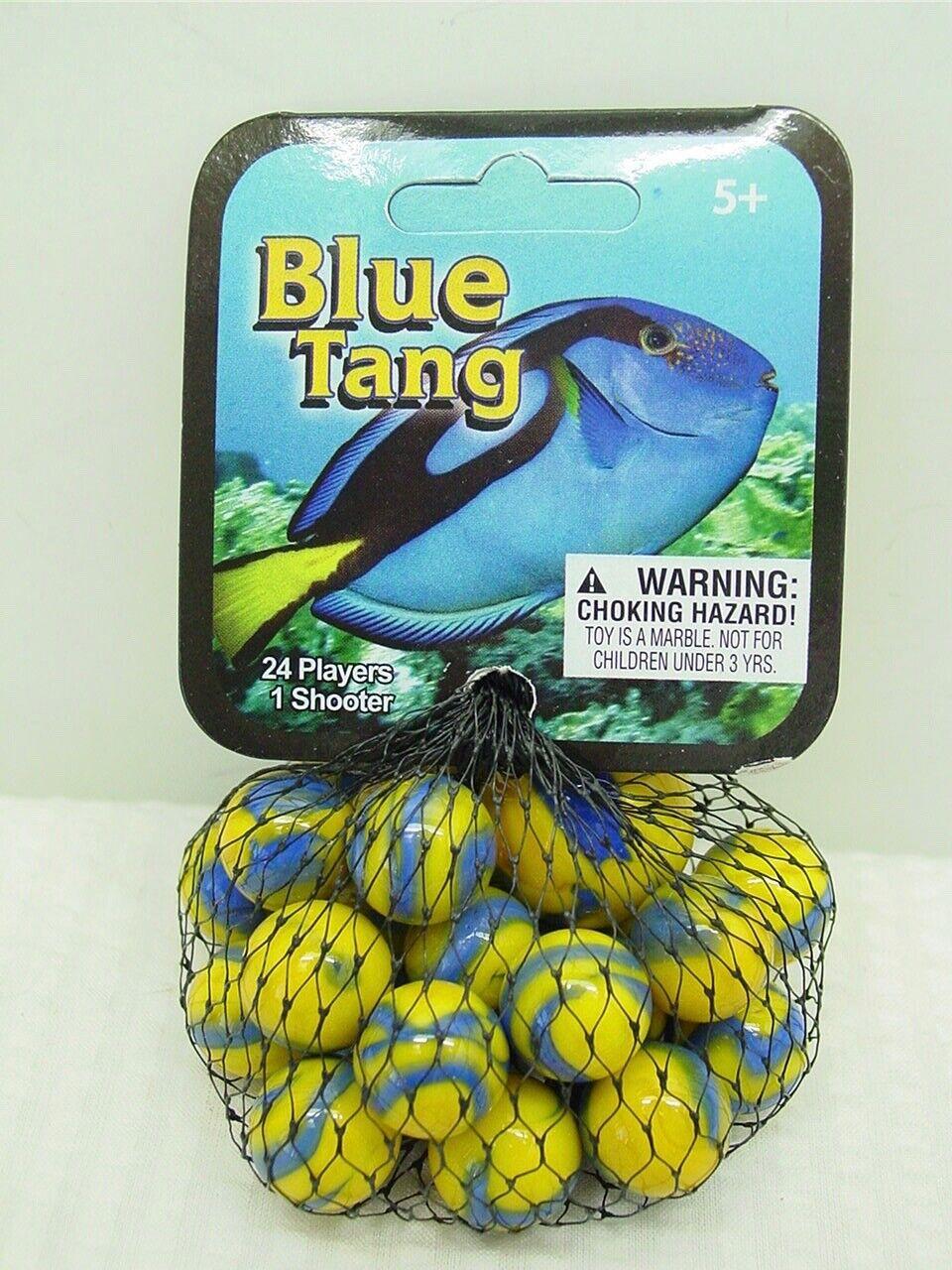 5//8/'/' Mega Marbles Themed- 24 Player Marbles 1/'/' Blue Tang Fish 1 Shooter -