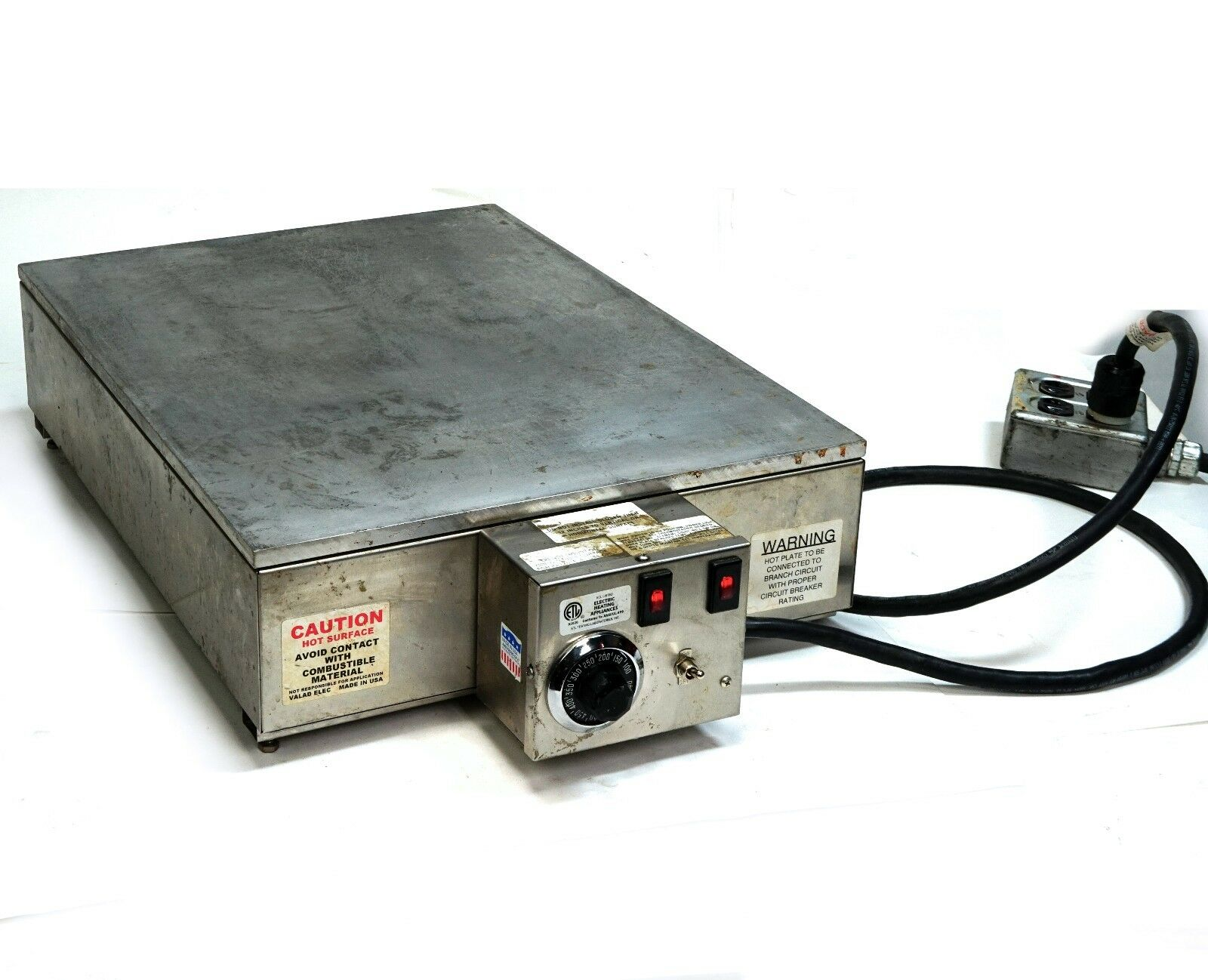 valad electrical, lab hot plate