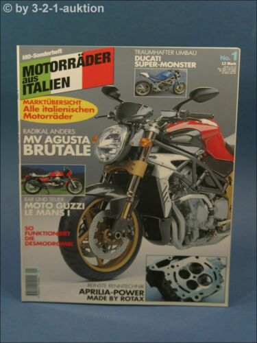 MV Agusta Brutale Mo Sonderheft Motorräder aus Italien Nr.1 u.a