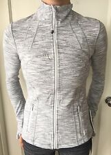Lululemon Size 8 Define Jacket WEE Are From Space Gray White WAGG Zip Up Forme