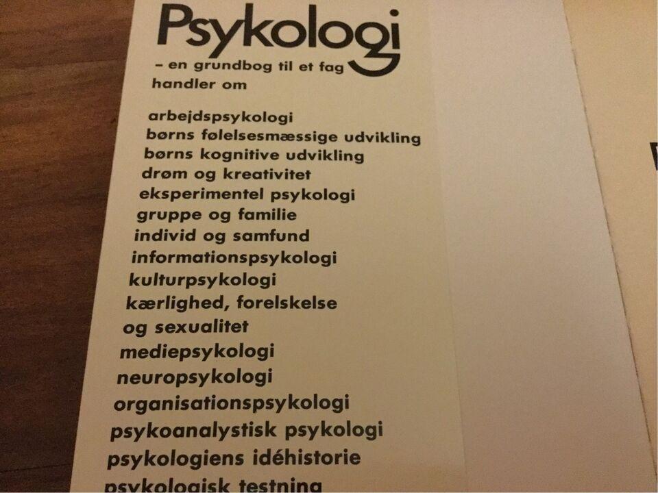 Psykologi - en grundbog til et fag, Susanne Lunn mfl., emne: