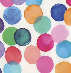Klebefolie-Moebelfolie-Julia-bunte-Punkte-DOTS-45-cm-x-200cm-Dekorfolie-Folie