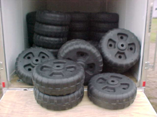 Set of 4 Best made dock wheels USA Wont find these at the big box stores