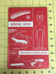 Vintage Travel Brochure General Guide Field Museum of Natural History 1971