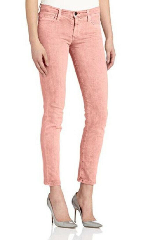 Joe's Jeans Womens XKDR5268 Jeans Straight Ankle Light Pink Size W29 RRP
