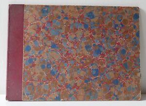 Grand-livre-recueil-de-8-plans-du-XVIIIe-de-Paris-de-Danet-Semi-relie-XIXe