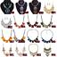 Fashion-Crystal-Necklace-Bib-Choker-Chain-Chunk-Statement-Pendant-Women-Jewelry thumbnail 5