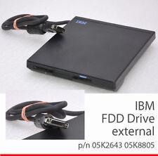 INTERN EXTERN IBM THINKPAD 600 770 FDD FLOPPY DRIVE DISKETTENLAUFWERK 85K8874 OK