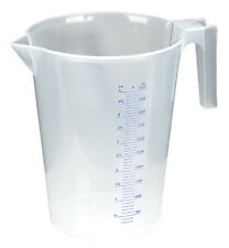 ACCURATE & EASY TO READ Measuring Jug Translucent 5 Litre - POURING SPOUT STURDY