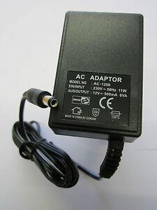 EU-European-12V-500mA-6VA-AC-AC-Linear-Adaptor-Power-Supply-Model-No-AC-1250