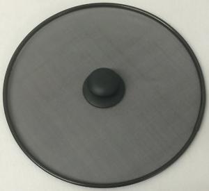 éclaboussures garde avec Noir bouton Treillis en acier inoxydable éclaboussures écran