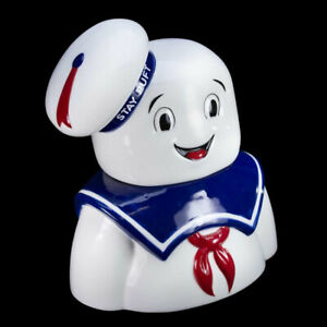 THE-COOP-Stay-Puft-Marshmallow-Man-Cookie-Jar-GHOSTBUSTERS-New